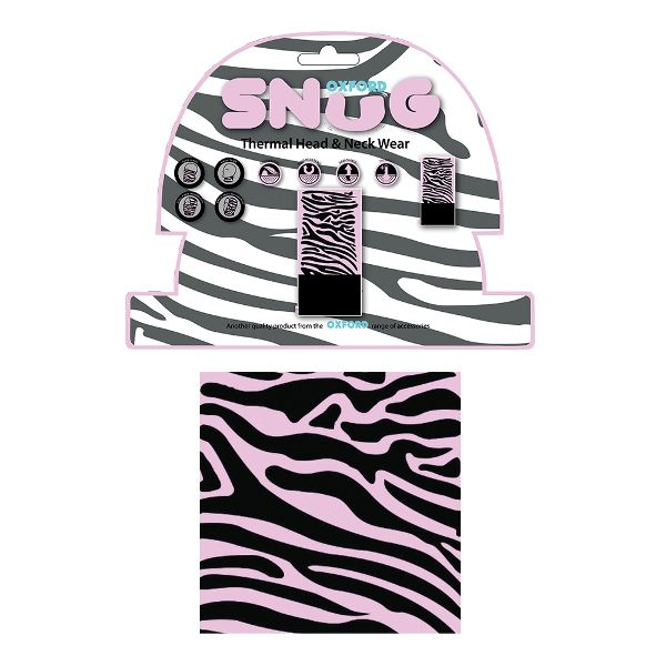 Oxford Snug - Pink Zebra