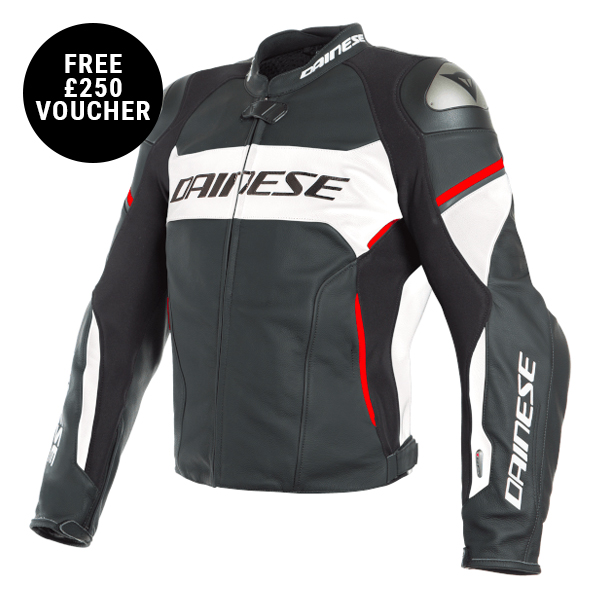 Dainese D-Air Racing 3 Leather Mens Jacket