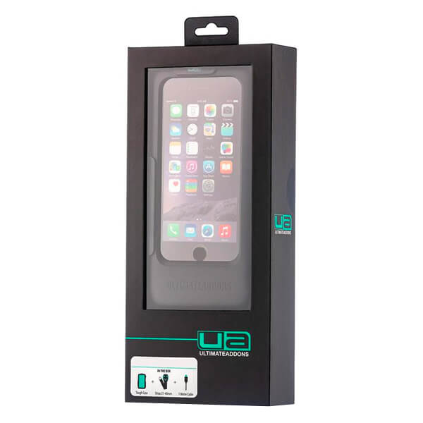 Ultimateaddons One Box Tough Case - Universal Smartphone to 6.3""