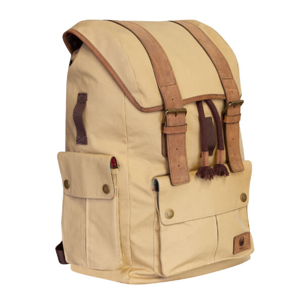 Merlin Ashby Classic Wax Cotton Rucksack