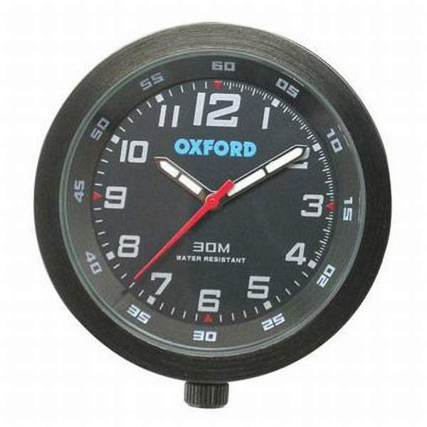Oxford Analogue Clock - Black