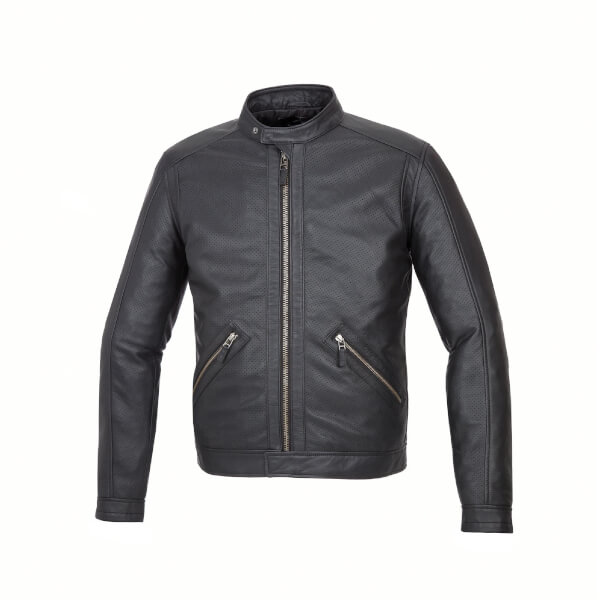 Tucano Urbano Tom Leather Jacket - Black
