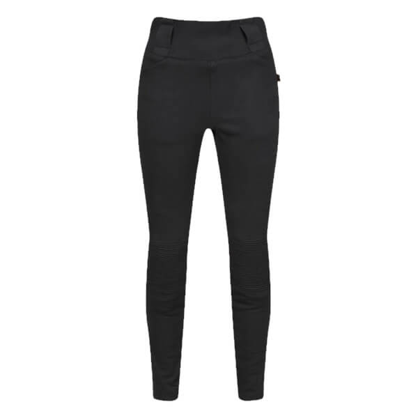 MotoGirl Moto Ribbed Ladies Leggings