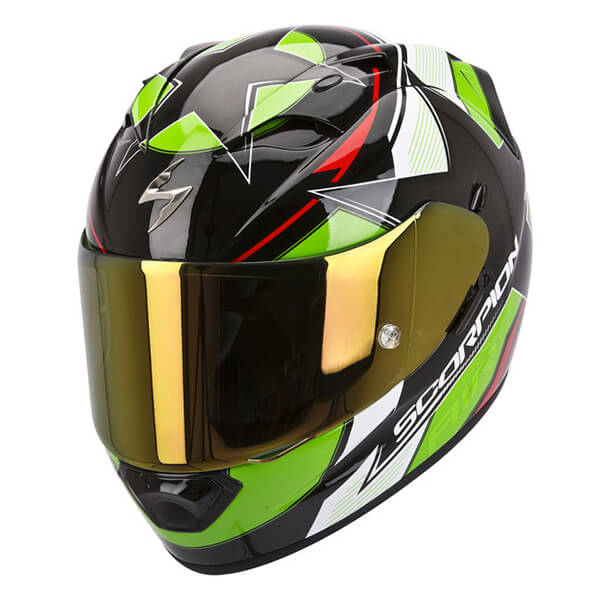 Scorpion EXO-1200 - Stella Black/Green/Red