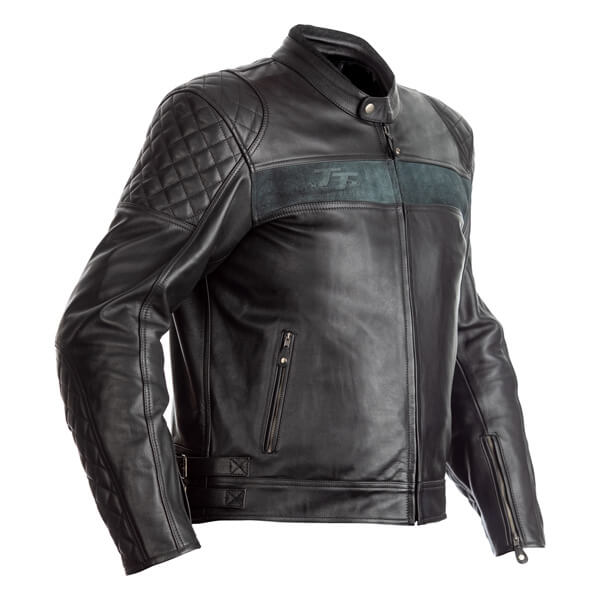 RST IOM TT Brandish CE Mens Leather Jacket