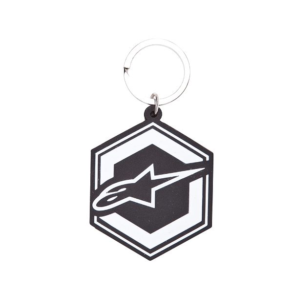 Alpinestars Ignition Keyring - Black/White