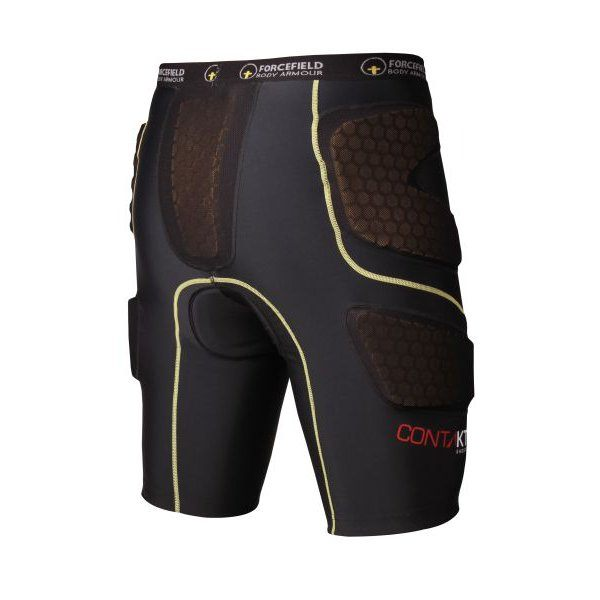 Forcefield Contakt Shorts C/W Pads - Dark Grey