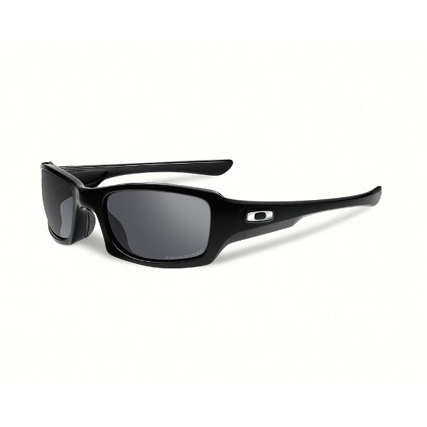 Oakley Fives Squared Sunglasses - Black/Black Iridium Polarized