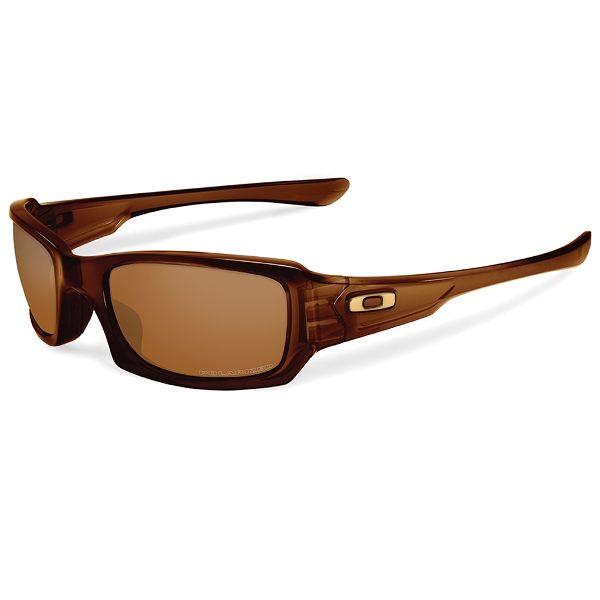 Oakley Fives Squared Sunglasses - Rootbeer/Dark Bronze