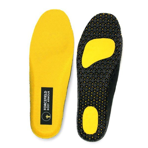 Forcefield Boots Inner Soles - Yellow
