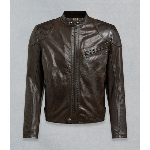 Belstaff Supreme CE Waxed Leather Mens Jacket
