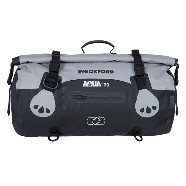 Oxford Aqua T-30 Roll Bag - Black/Grey