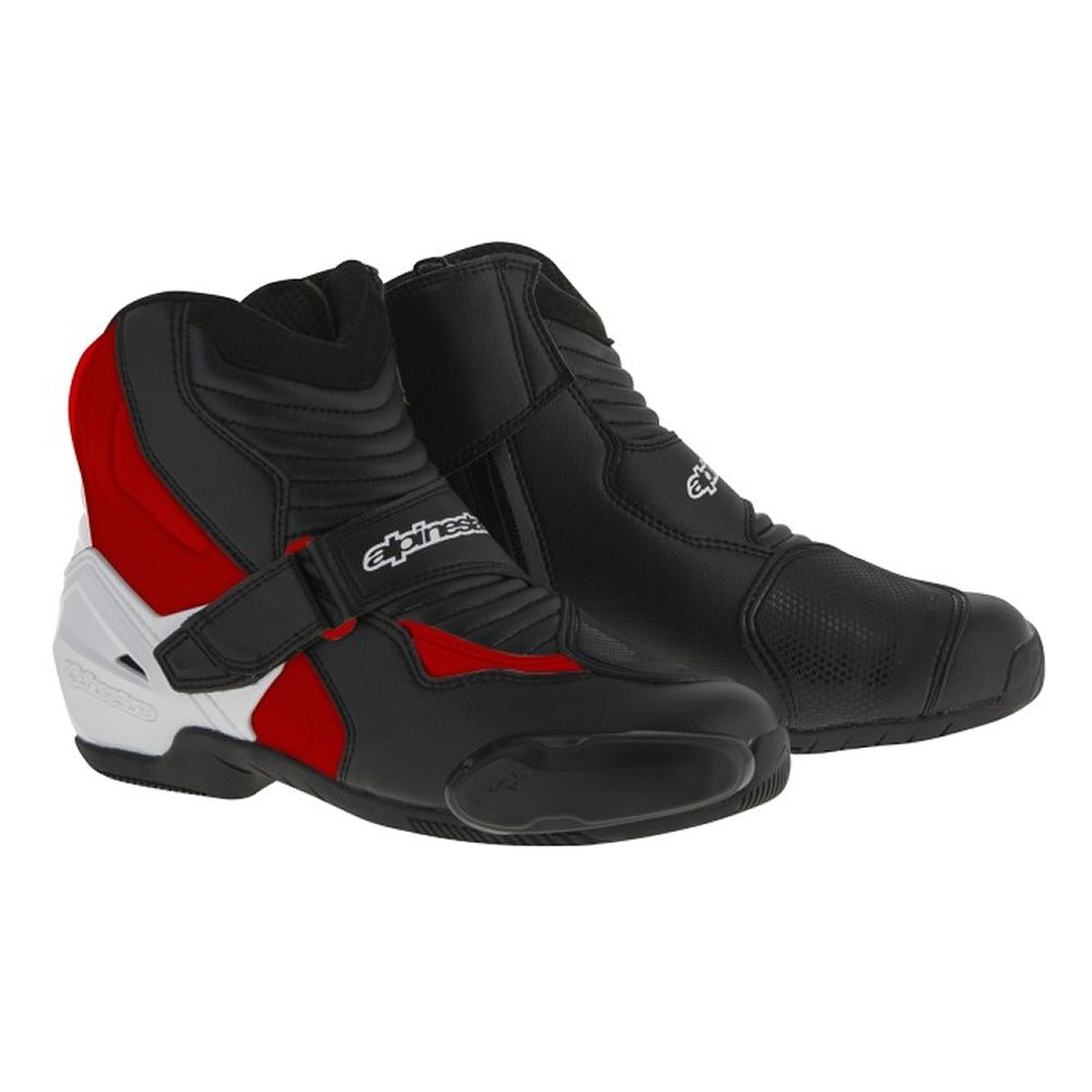 Alpinestars SMX-1R Boots -Black/White/Red