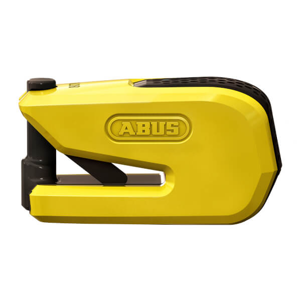 Abus Smart X Detecto 8078 Disc Lock - Yellow
