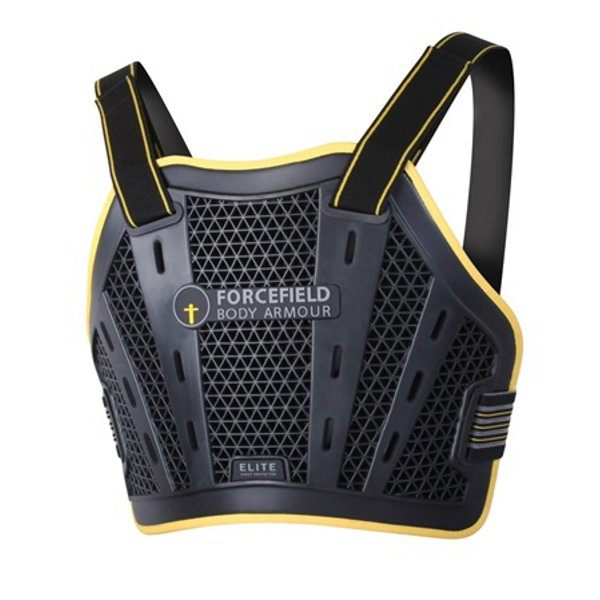 Forcefield Elite Chest Protector - Black/Yellow