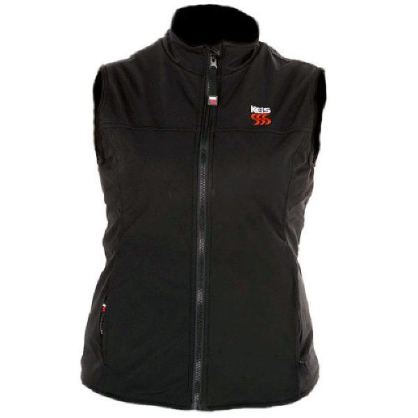 Keis Heated X30 Ladies Comfort Vest - Black