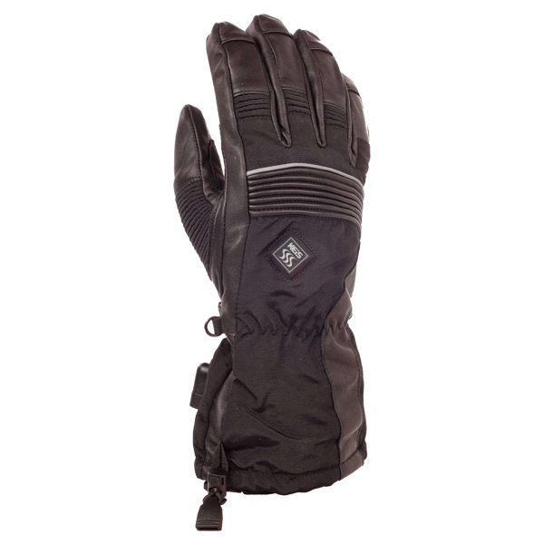 Keis Heated X900 Dual Power Outer Gloves - Black