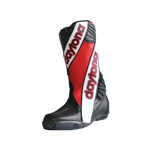 Daytona Security Evo 3 Boots Mens - Black/White/Red