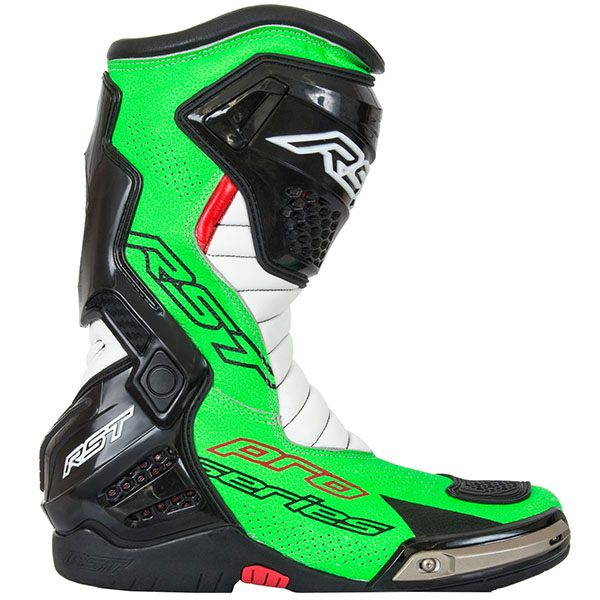 RST Pro Series Race Boots - Neon Green