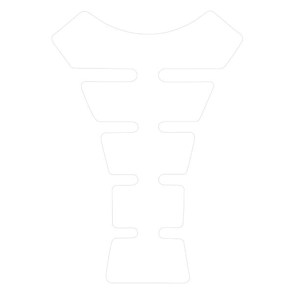 Oxford Spine Tankpad - Clear