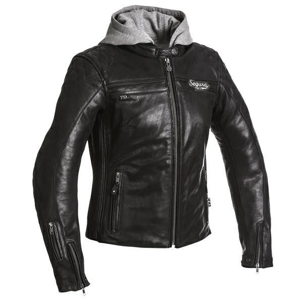 Segura Style Leather Ladies Jacket - Black