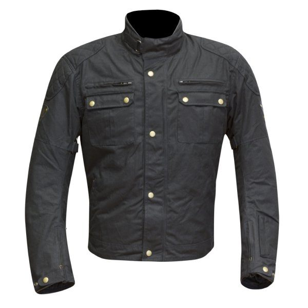 Merlin Sandon Wax Jacket - Black