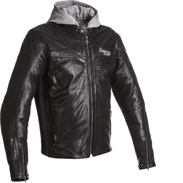Segura Style Leather Jacket - Black