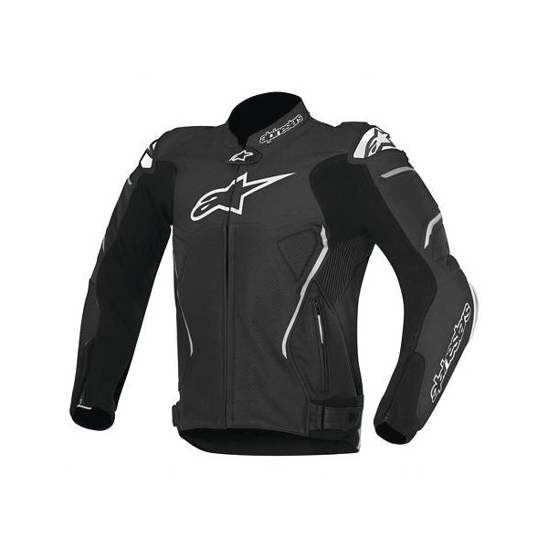 Alpinestars Atem Leather Jacket - Black