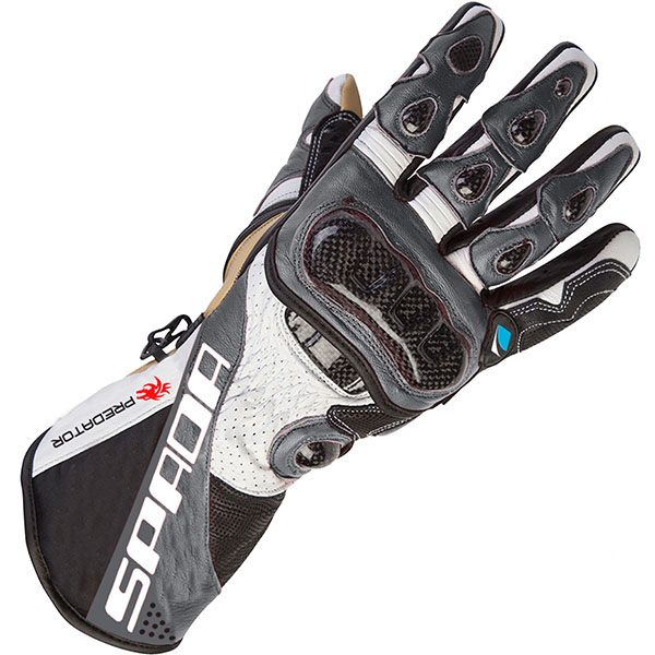 Spada Predator 2 - Leather Gloves Black/Anthracite