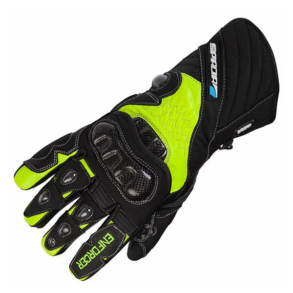 Spada Enforcer Waterproof Gloves - Black/Fluo