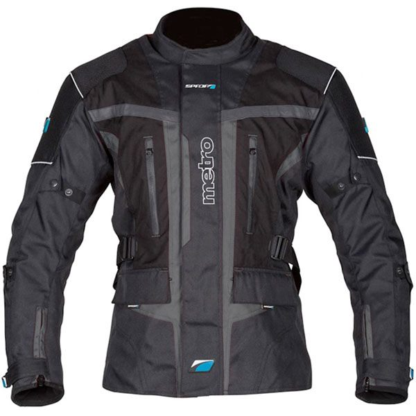 Spada Metro Waterproof Jacket - Black/Gunmetal
