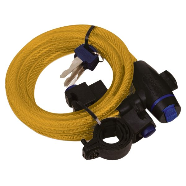 Oxford Cable Lock 12mm x 1800mm - Gold