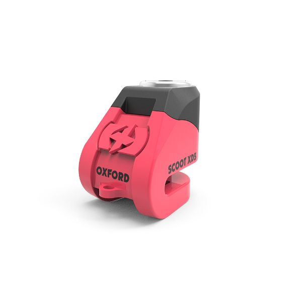 Oxford Scoot XD5 disc lock(5mm pin) Pink