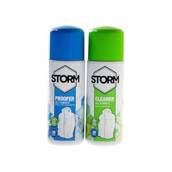 Storm Cleaner & Waterproofer Twin Pack 75ml