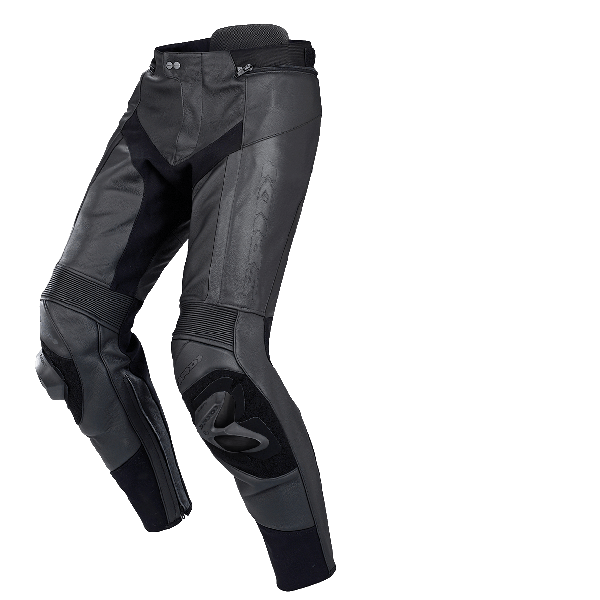Spidi RR Pro Pants Leather Jeans - Black/Black