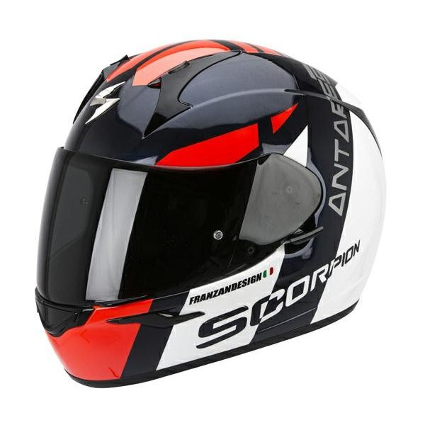 Scorpion EXO-410 - Antares White/Black/Red