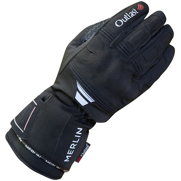 Merlin Titan Outlast Waterproof Gloves Mens - Black