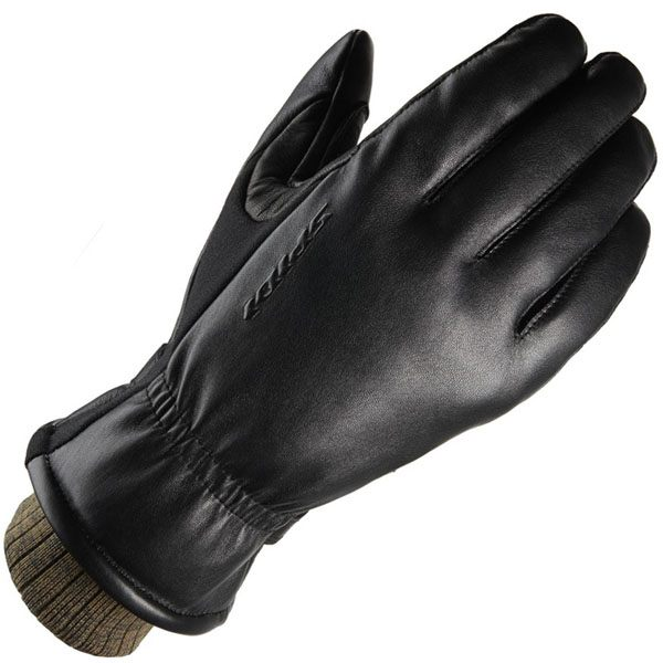 Spidi Avant Garde Waterproof Leather Gloves - Black