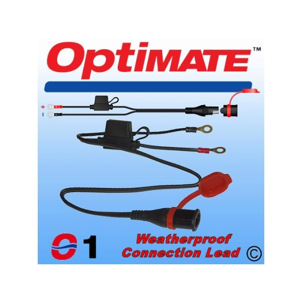 Optimate M79 - O01 Waterproof M6 Eyelet lead - SAE