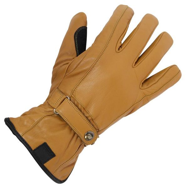 Spada Free Ride Waterproof Leather Gloves - Tan