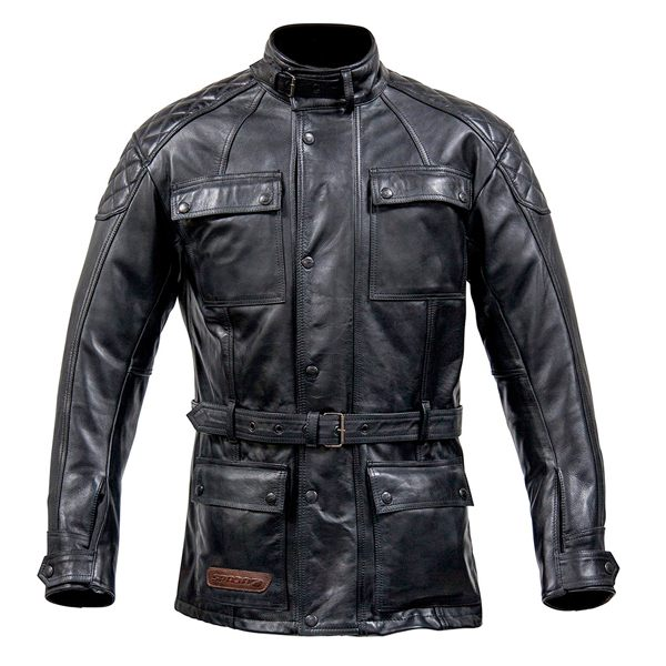 Spada Berliner Leather Jacket - Black