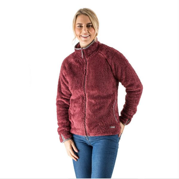 EDZ Yeti Jacket Ladies - Port