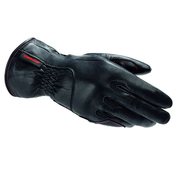 Spidi Class Ladies Waterproof Leather Gloves - Black