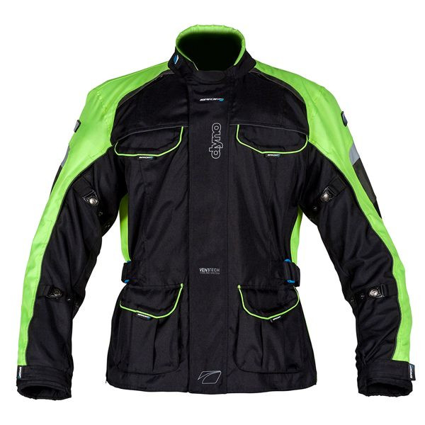 Spada Dyno 2 Jacket - Black/Yellow