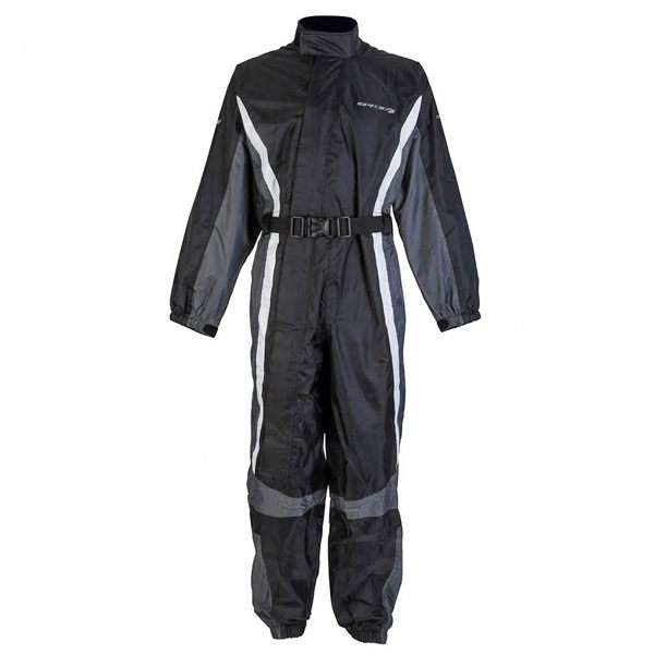 Spada 408 Waterproof Oversuit - Black/Anth