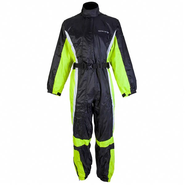 Spada 408 Waterproof Oversuit - Black/Fluo