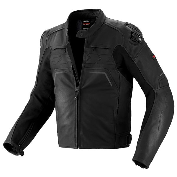 Spidi Evo Rider Leather Jacket - Black