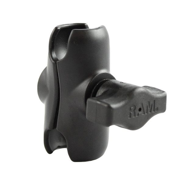 Ram Mount Double Socket Arm Short for 1 Ball