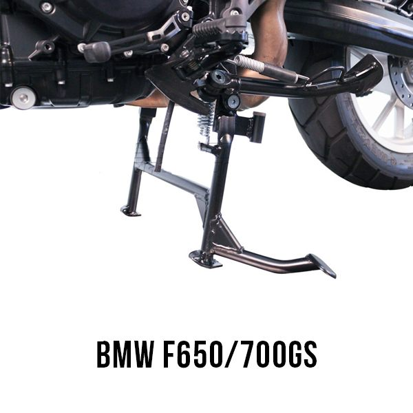 SW-Motech Centre Stand BMW F650/700Gs Lower Suspension Setting - Black
