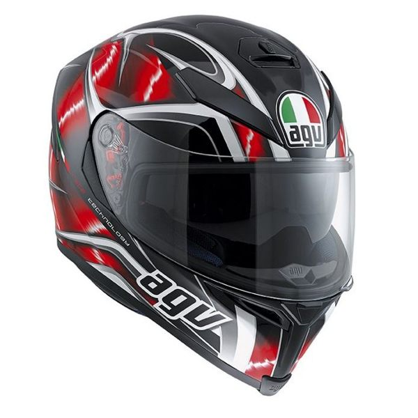 AGV K5 - Hurricane White/Red/Black